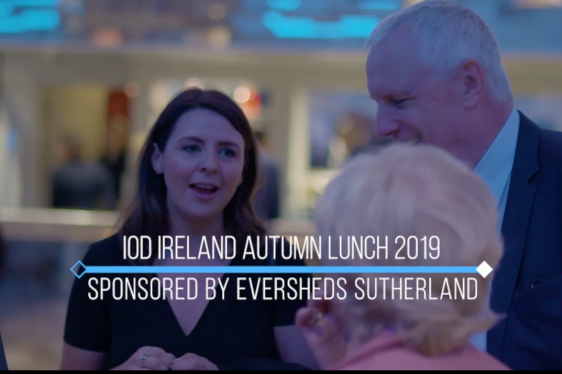 Highlights from the IoD Ireland Autumn Lunch 2019