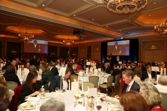 €18,000 raised for Merchants Quay Ireland at IoD Christmas Lunch
