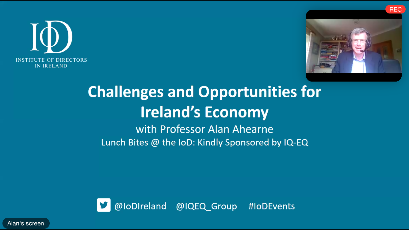 Challenges and Opportunities for Ireland's Economy