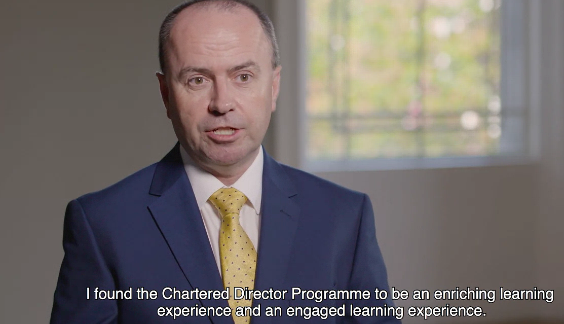 IoD Chartered Director Programme - A Unique Qualification for Business Leaders in Ireland