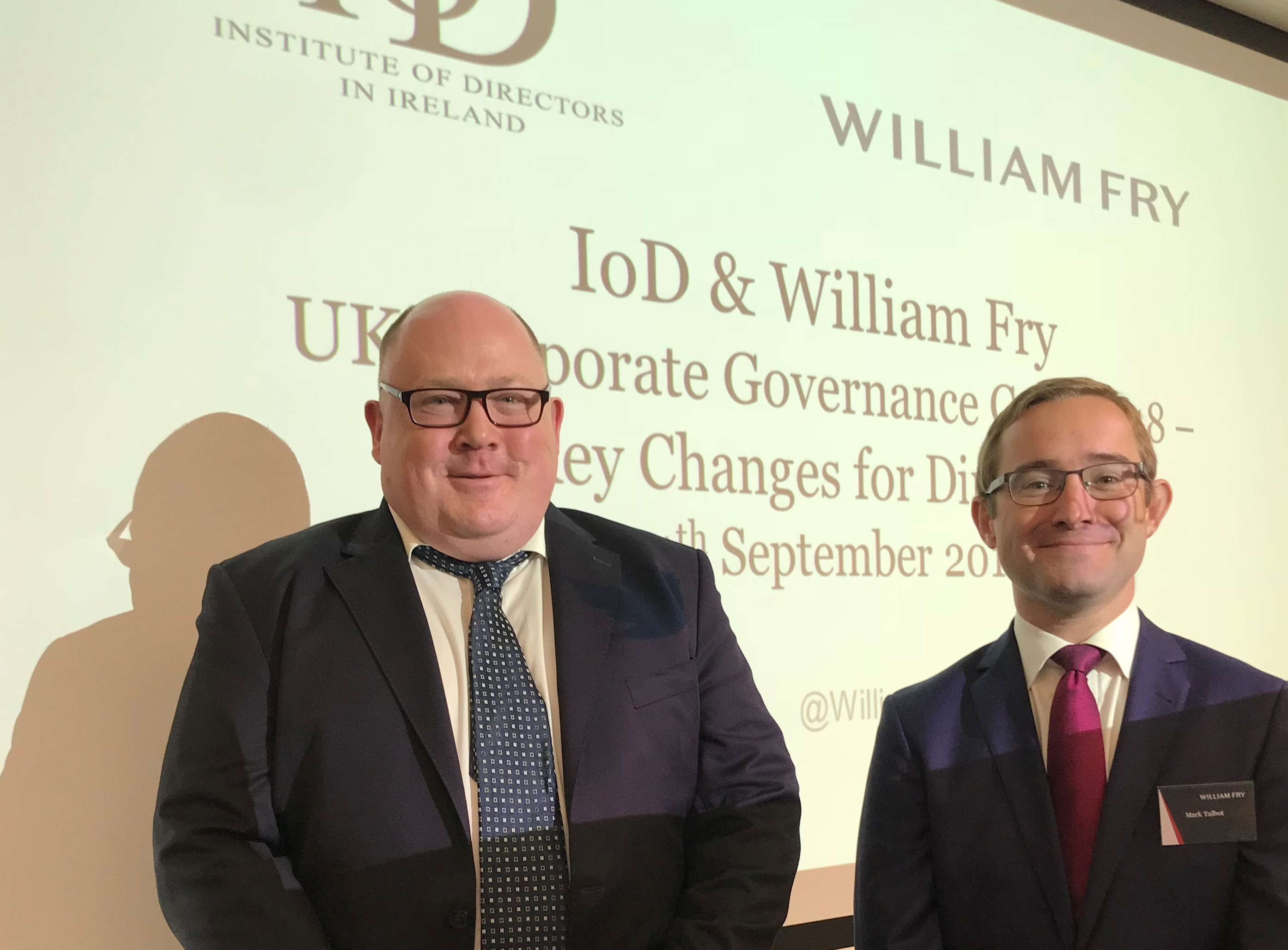 IoD & William Fry - UK Corporate Governance Code 2018 - Key Changes for Directors